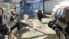 Dual wielding in Metro Conflict
