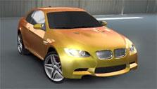 Cool gradient-colored car in League of Racers