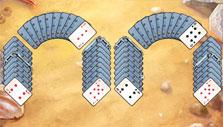 2 arches in Pirate's Solitaire 3