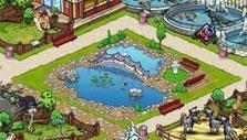 Pond in Zoo Mumba