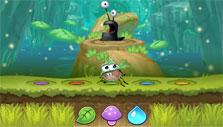 Attacking slugs in Best Fiends