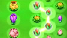 Linking flowers in Blossom Blast Saga