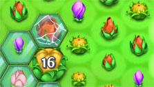 a tricky level in Blossom Blast Saga