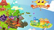 Moshi Monsters map