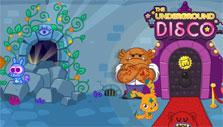 underground disco in Moshi Monsters