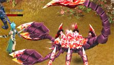 SAO's Legend: Fighting a giant scorpion