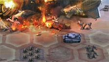 burning zeppelin in Liberators