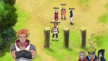 a dialogue in Naruto Online