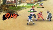 Naruto Online: fighting enemies
