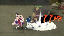 sasuke and sakura in Naruto Online