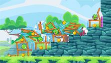 Angry Birds Friends: It all came tumbling down