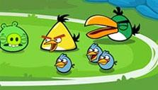 Angry Birds Friends: Tournament screen