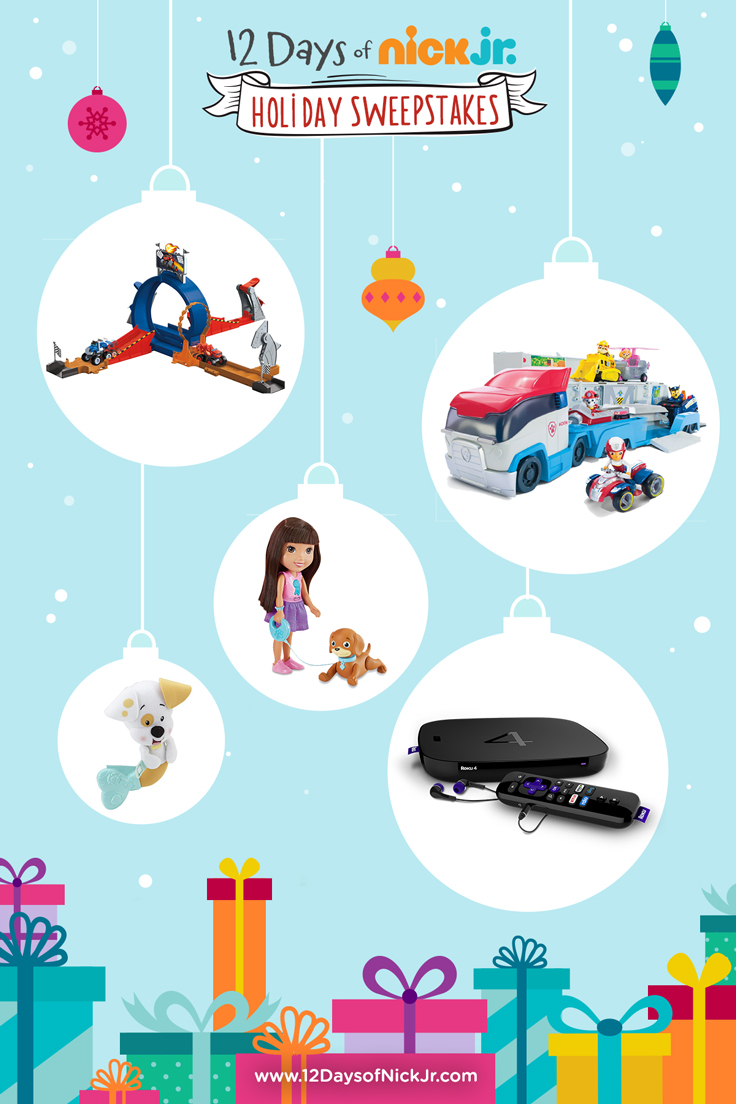 12 Days of Nick Jr. Holiday Sweeps