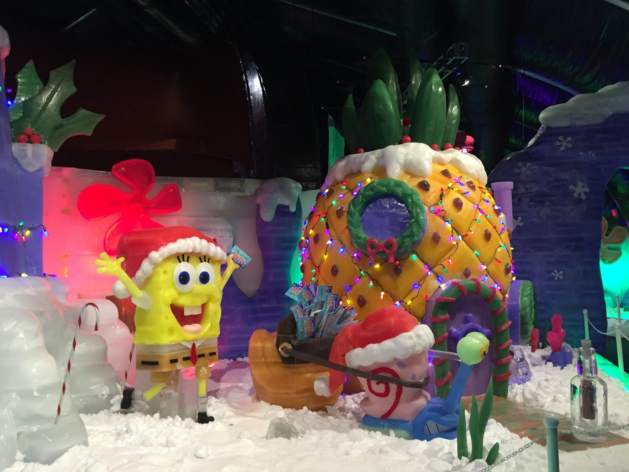 SpongeBob Iceland Christmas Pineapple