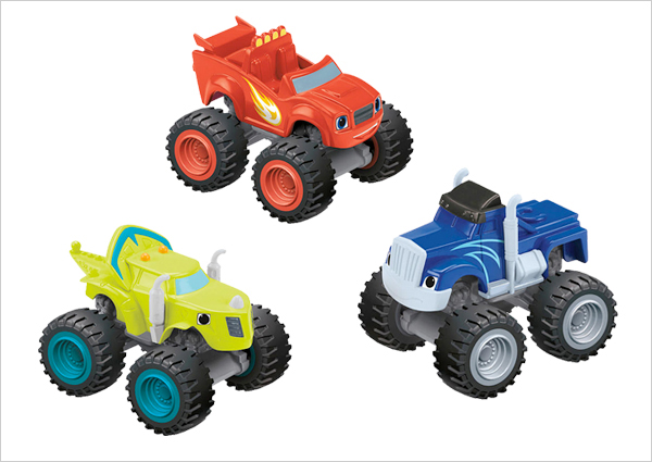 Blaze Diecast Vehicles