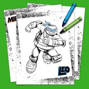 Teenage Mutant Ninja Turtles Coloring Pack | Nickelodeon Parents