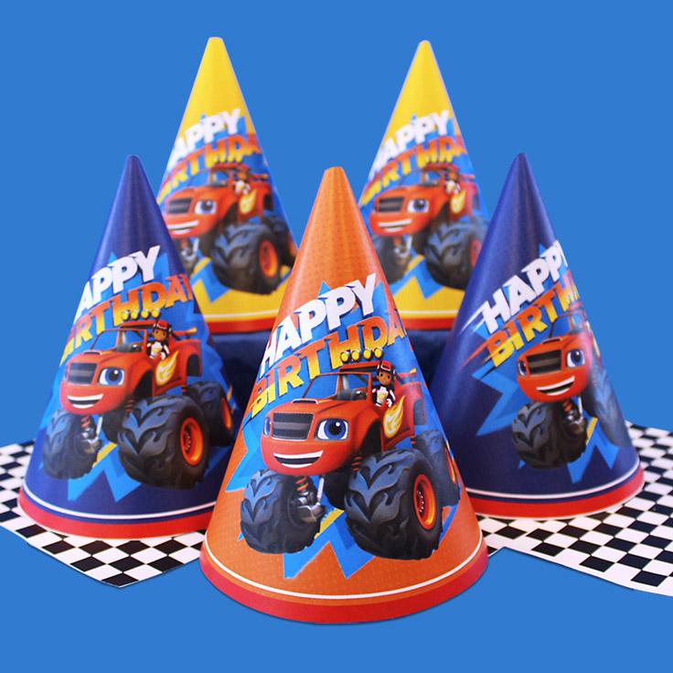 Blaze Party Hats