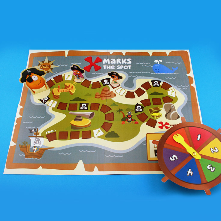 Bubble Guppies Pirate Board Game