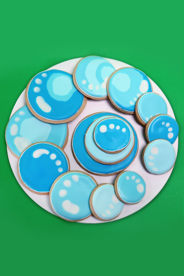 Bubble Guppies Bubble Cookies