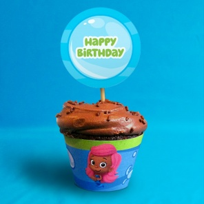 Bubble Guppies Cupcake Wrappers