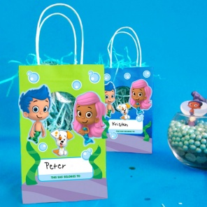 Easy to Make Guppy Goody Bags