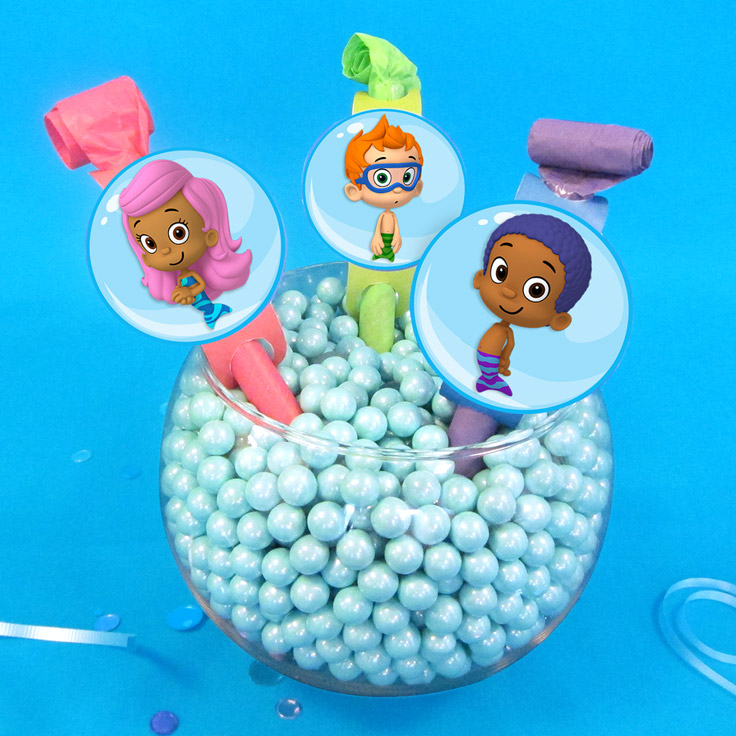 Bubble Guppies Party Blowers