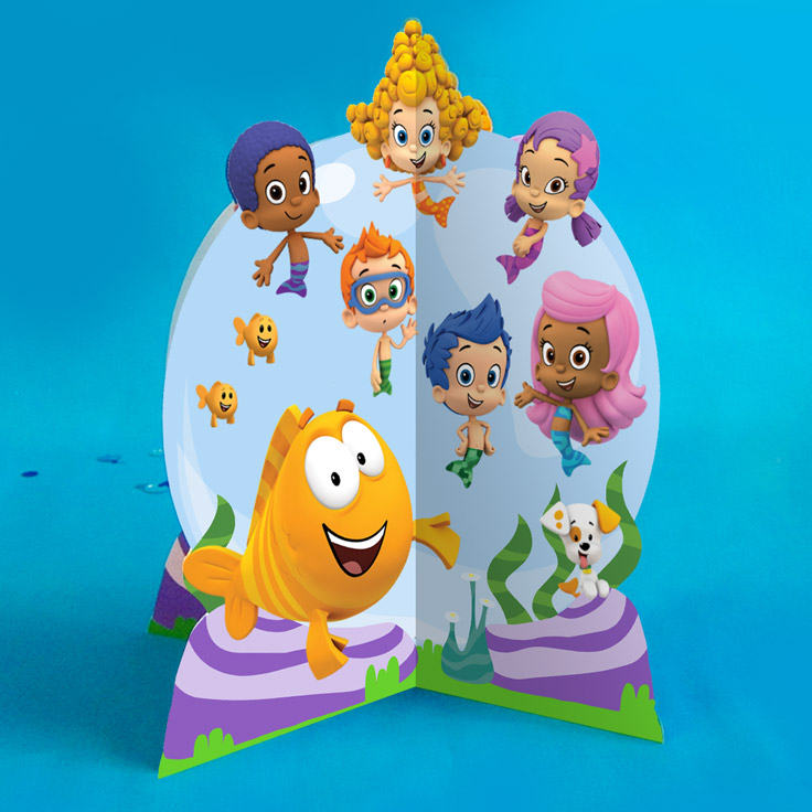 Bubble guppies birthday party nickelodeon parents bubble guppies tailfin table topper bubble guppies birthday party maxwellsz