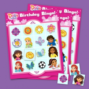Have a Dora Birthday Bingo Blast