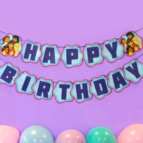 Dora and Friends Birthday Banner
