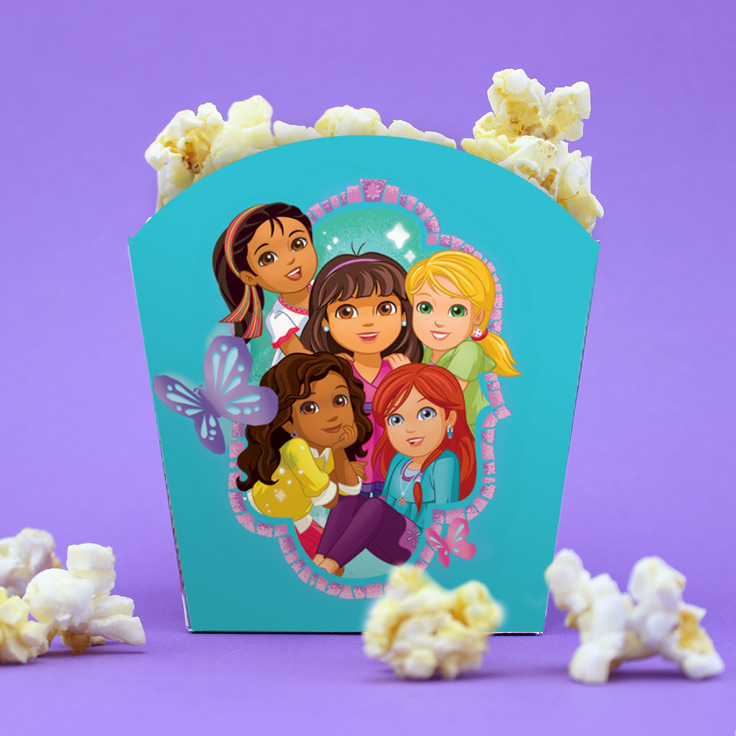 Dora and Friends Popcorn Holders