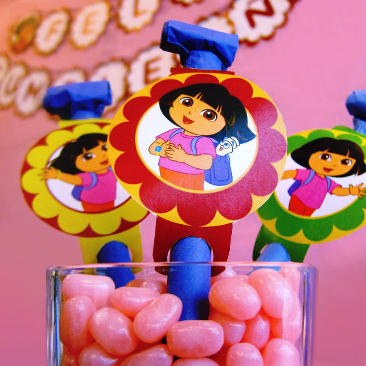 Dora Party Blowers