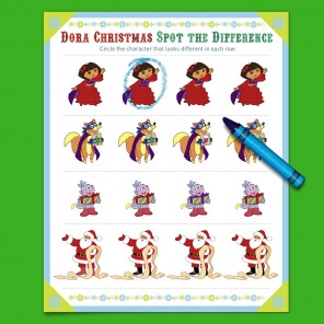 Delightful Dora Holiday Game