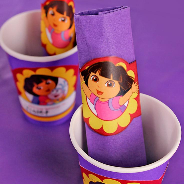 Dora Napkin Rings