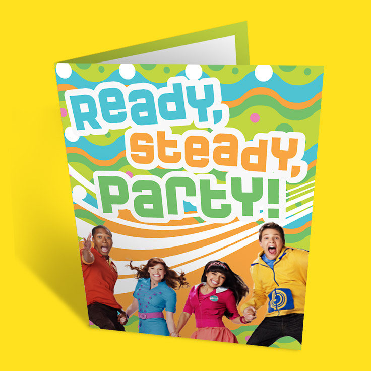 Fresh Beat Band Party Invitations