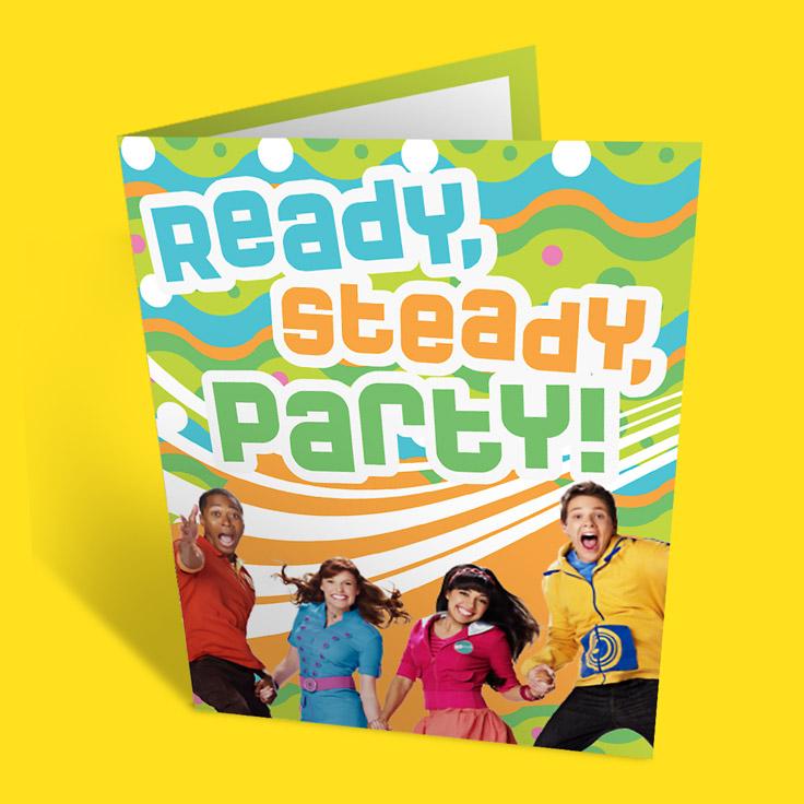 Fresh Beat Band Party Invitations
