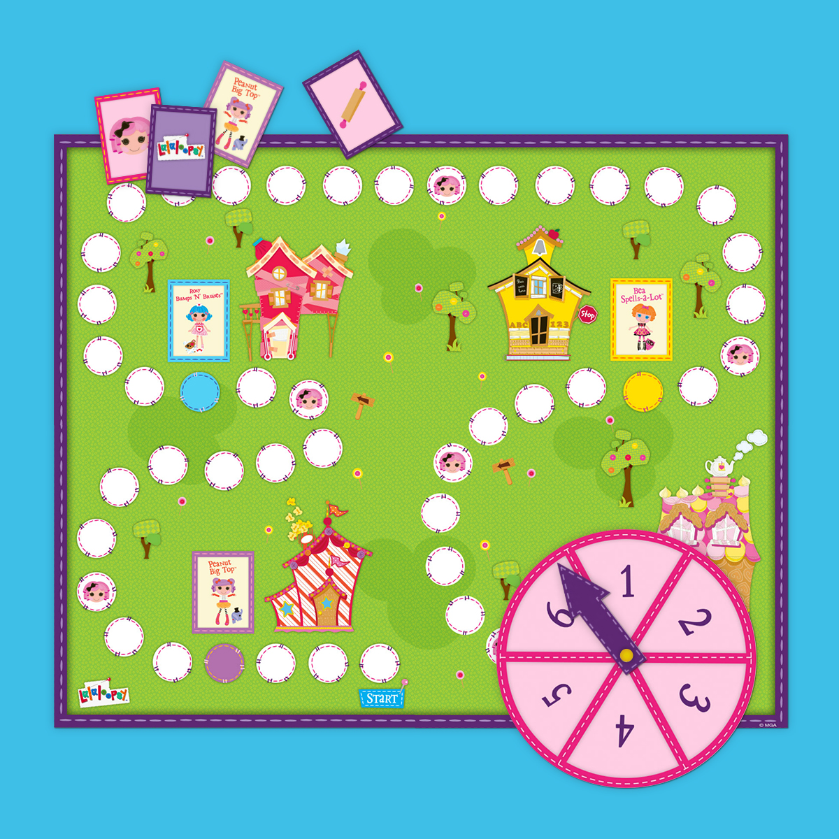 Lalaloopsy Board Game