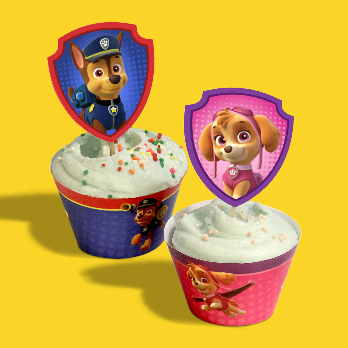 PAW Patrol Treat Wrappers and Toppers