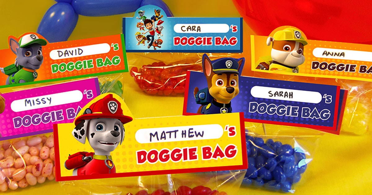 Make Your own PAW Patrol Goody