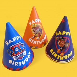 PAWsome PAW Patrol Party Hats