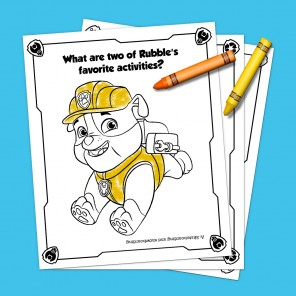 Crayons out: Time for a Pup Quiz!