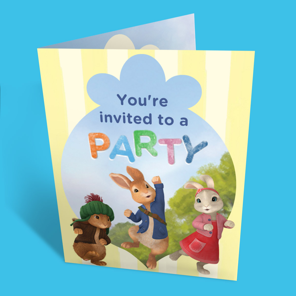 Peter Rabbit Party Invitation