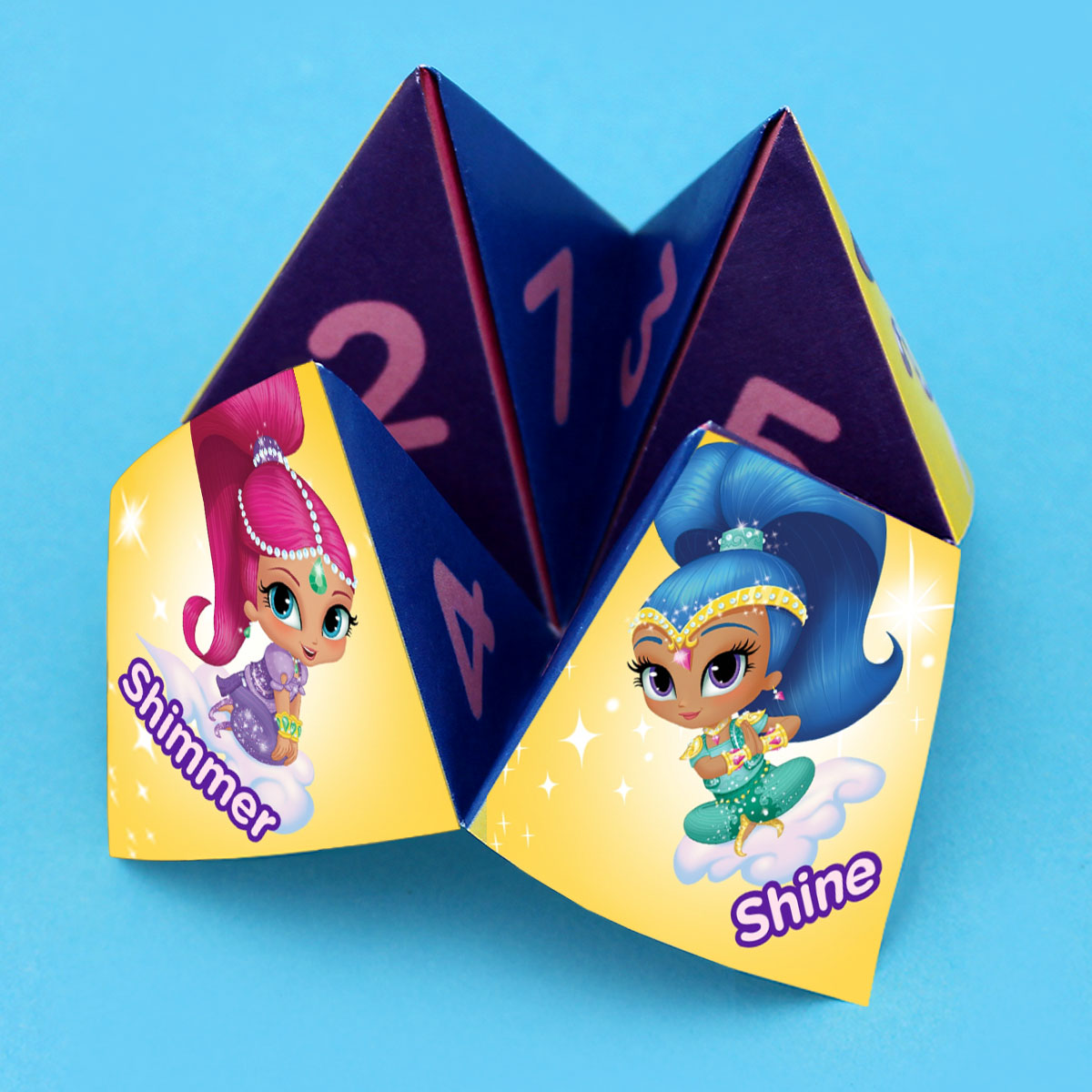 shimmer and shine fortune teller craft nickelodeon parents