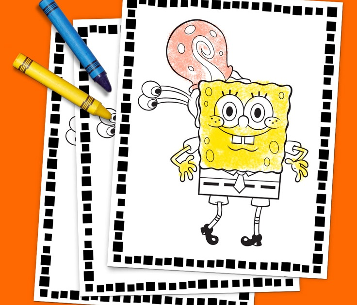 SpongeBob and Friends Coloring