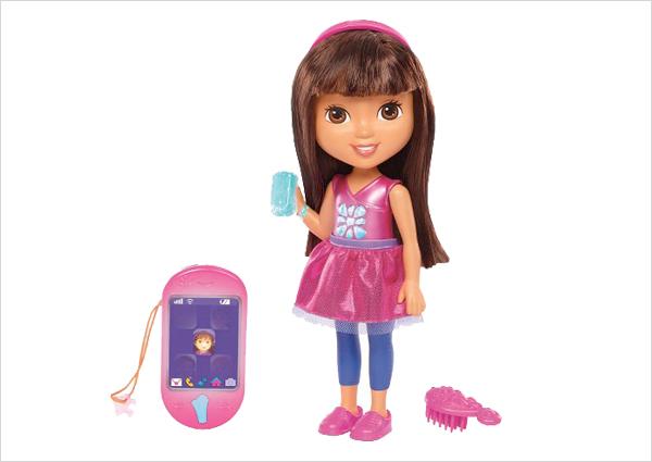 Talking Dora and Smartphone