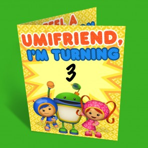 Umizoomi Party Invitations