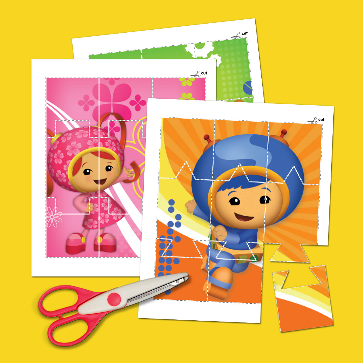 Umizoomi Picture Puzzles