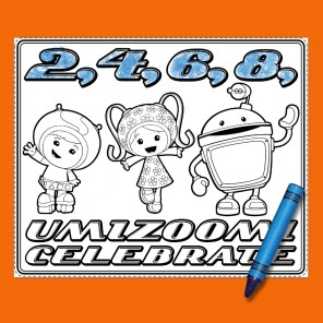 Team Umizoomi Party Placemats