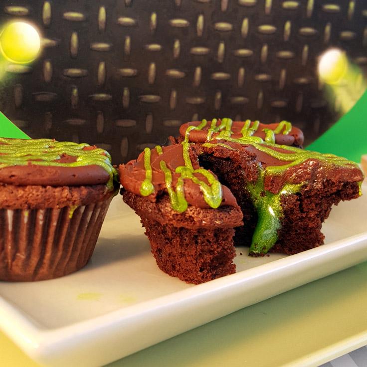 TMNT Mutagen Cupcakes