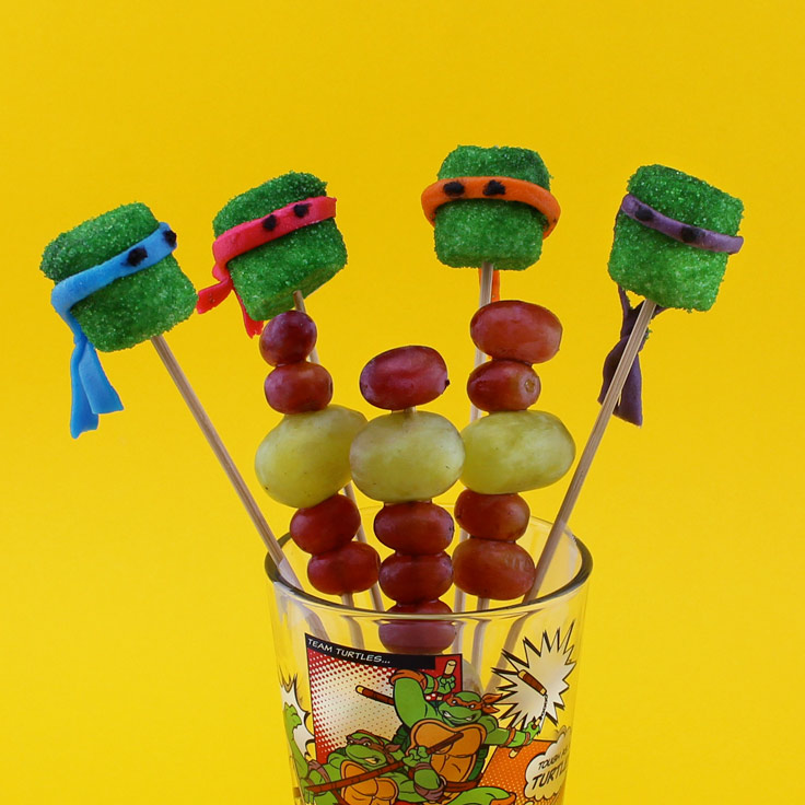 TMNT Sewer Skewer Party Treats