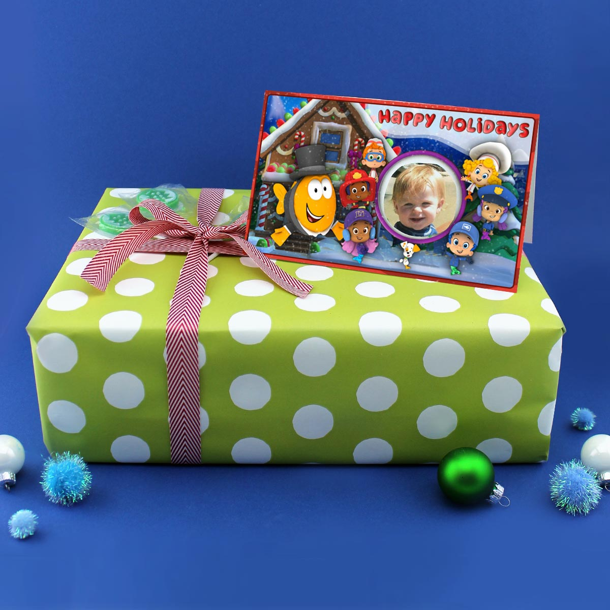 Bubble Guppies Holiday Card